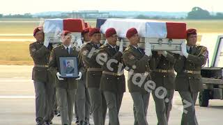 Afghanistan - NATO - Army - US - Czech - Soldier - Bagram - Funeral - Respect