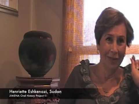 Ben-Gurion Archives and JIMENA: Henriette Eshkenazi of Egypt