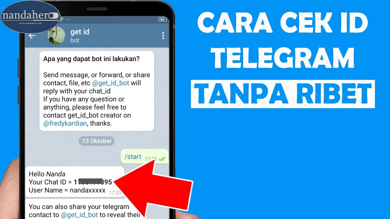 Cara Melihat Id Telegram Sendiri Id Telegram Yang Mana Youtube