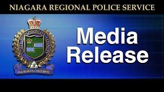 Niagara Regional Police Service Media Release May 22, 2019