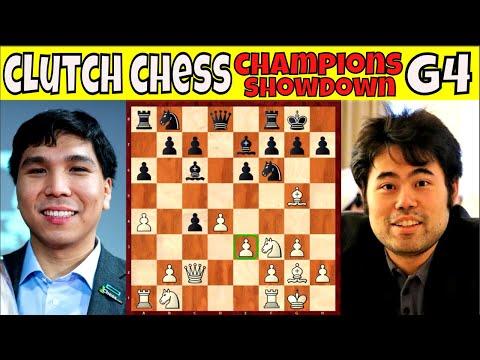 GAME 4 || NAGKA PISAKAN DIN || GM So vs. GM Nakamura || Clutch Chess Champions Showdown || # 281