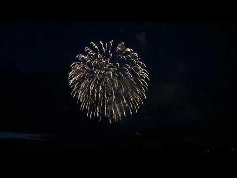 Canada Day Fireworks,  Kamloops B.C., July 1/2019