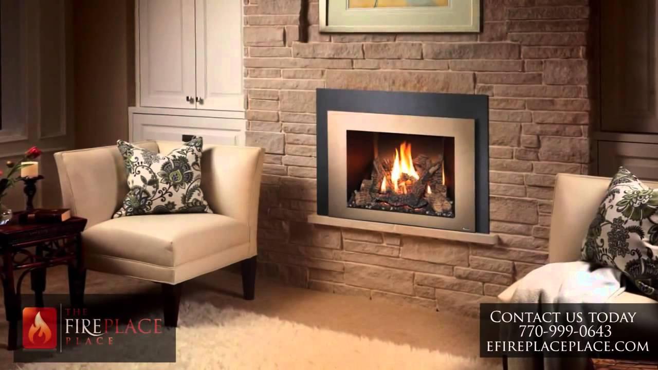 Ventless/ Vent Free vs. Vented Gas Logs Atlanta - YouTube