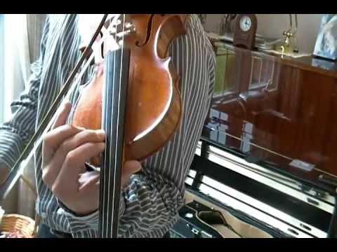 Violin A Major Scale 3 Octaves Demonstration