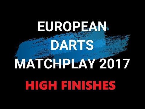 European Darts Matchplay 2017 - High Finishes