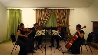 Emmanuel Despax : Premier mouvement de « Fantaisie pour quatuor à cordes ».