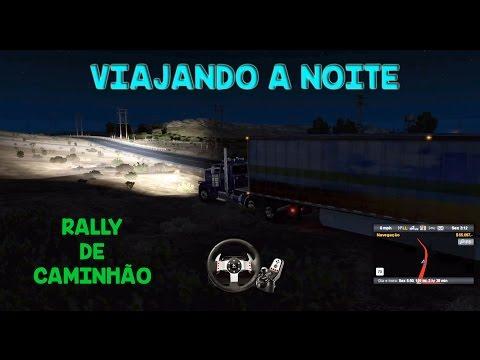 Viajando a noite, Rally e Bugs 1.5 -ATS+G27+Notebook- American Truck Simulator - #22