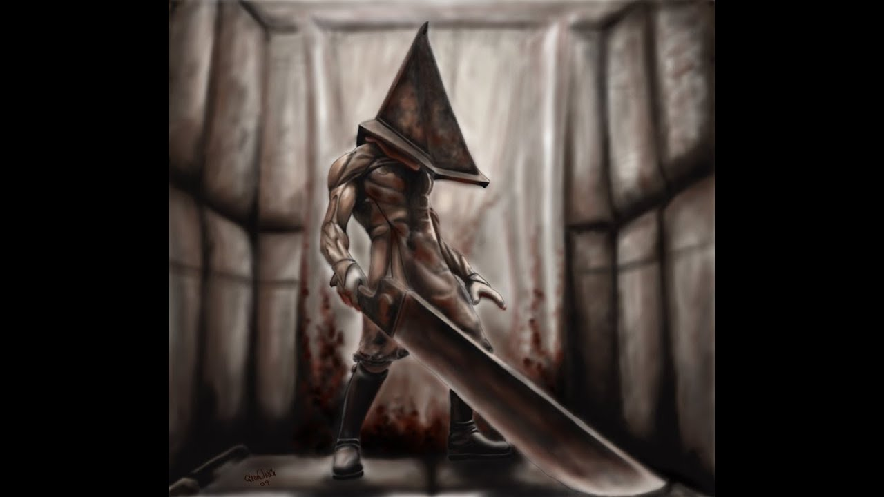First Encounter With Pyramid Head Silent Hill 2 Youtube