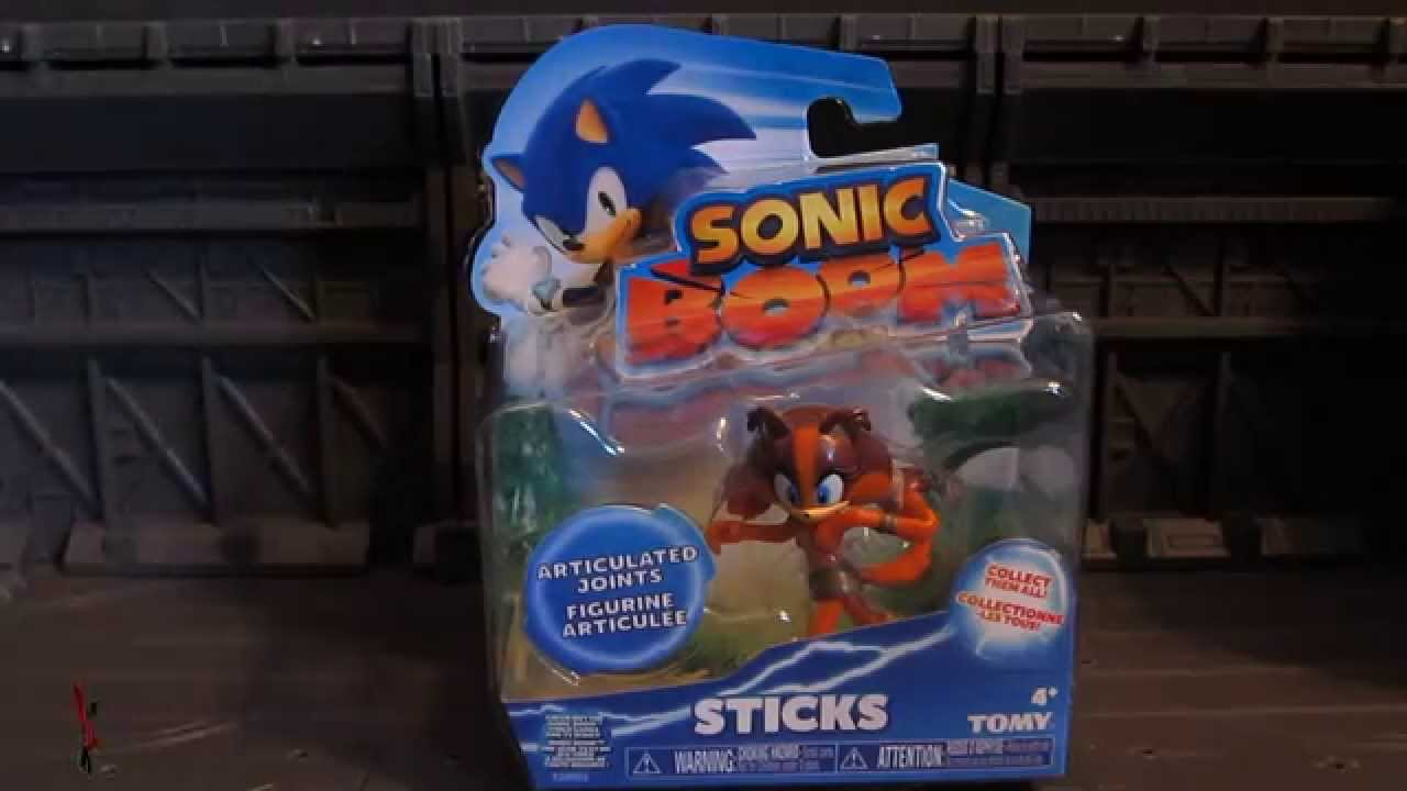 Sonic Boom Sticks The Badger 2 5 Quot Basic Wave Tomy Action