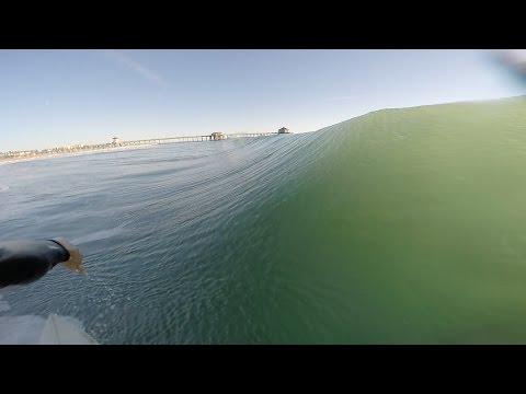 Huntington Beach Surfing Gopro L 11.10.16 L