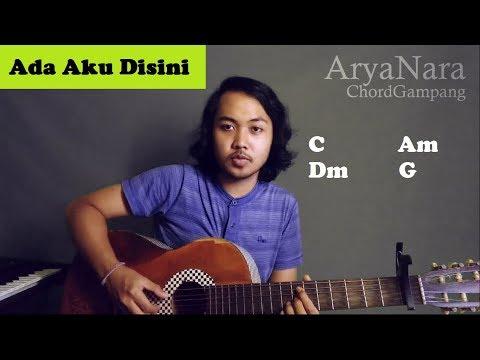 Chord Gampang (Ada Aku Disini - DHYO HAW) by Arya Nara (Tutorial Gitar) Untuk Pemula