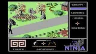 C64 Last Ninja Palace Gardens Remix  and Full Walkthrough