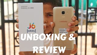 Samsung Galaxy J6 Gold Unboxing & Review In Hindi