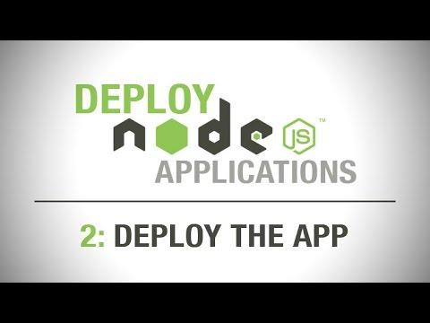 Deploying node js applications #2 - provision server & setup flightplan