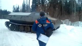 Розвантаження з трала ГТ-ТБу