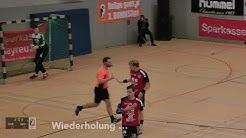 Handballregeln: erst Ermahnung, dann Gelbe Karte