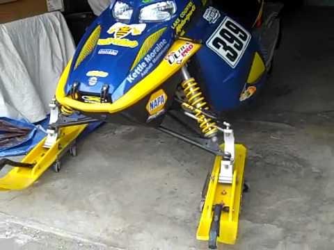 440 Mxzx Factory Race Sled