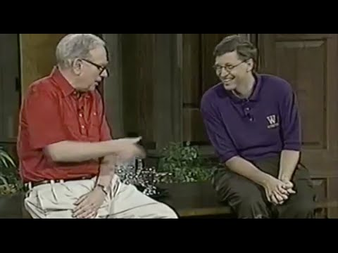 A Conversation with Warren Buffett & Bill Gates - University of Washington