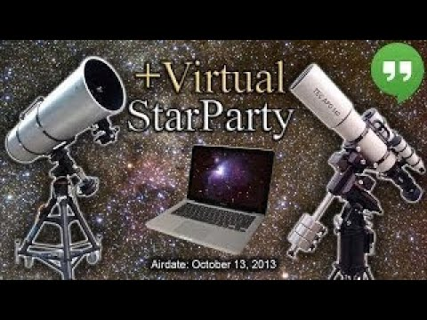 Virtual Star Party 13, 2017 Canadian Thanksgiving! The Moon vesves the ISS!