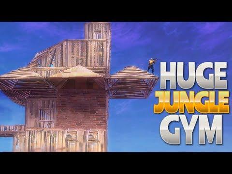 HUGE JUNGLE GYM (Fortnite Battle Royale)