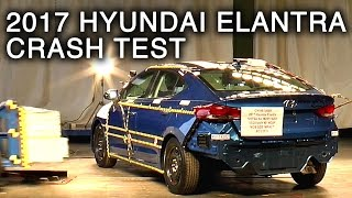 2017 Hyundai Elantra Side Crash Test