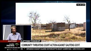 Kliptown threatens court action against Gauteng government: George Mohlala