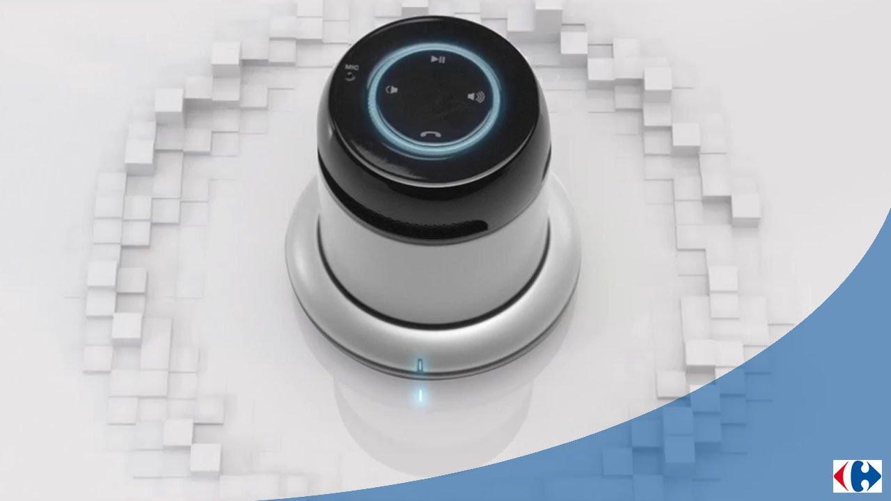 Lenceinte Bluetooth Design By Carrefour 021