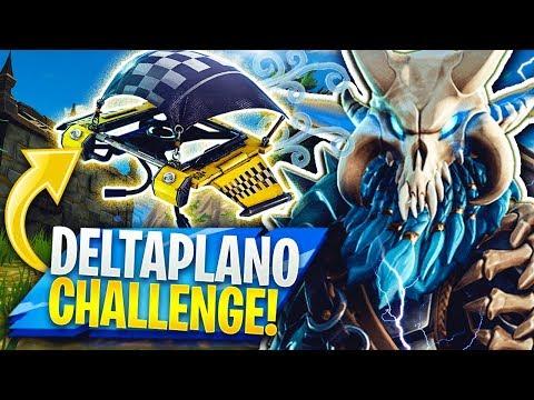 HO SCLERATO TANTISSIMO NELLA DELTAPLANO CHALLENGE! Fortnite Battle Royale