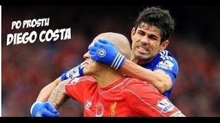 Diego Costa - Brutalne i chamskie zachowania