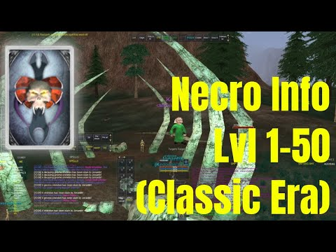 Necro Class Guide/Review Lvl 1-50 (Classic) Everquest TLP