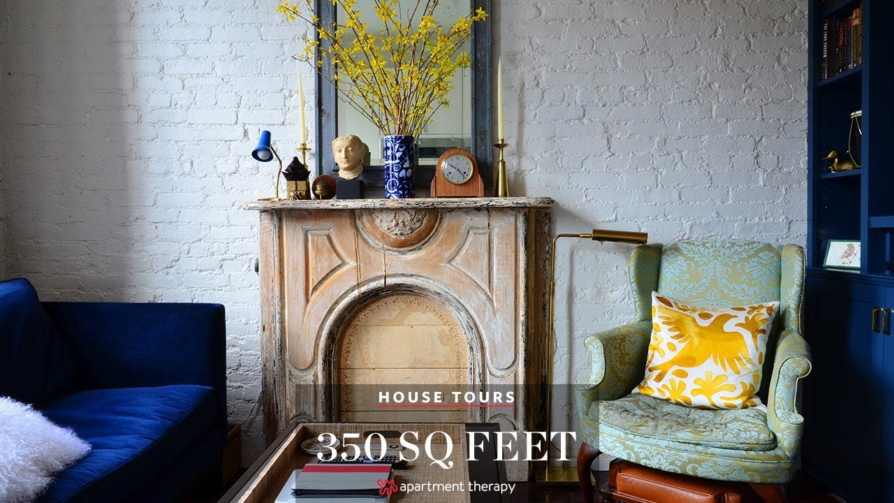 House Tours: Super Smart Small East Village Space - YouTube