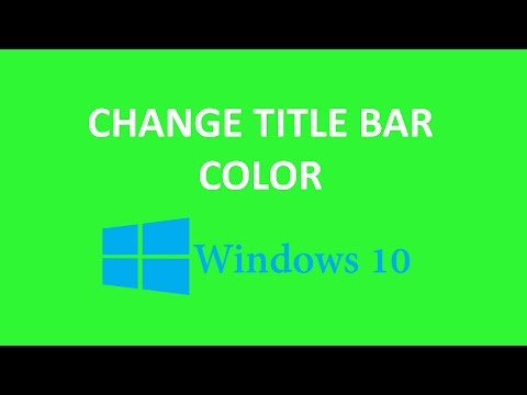 how to change phone bar color