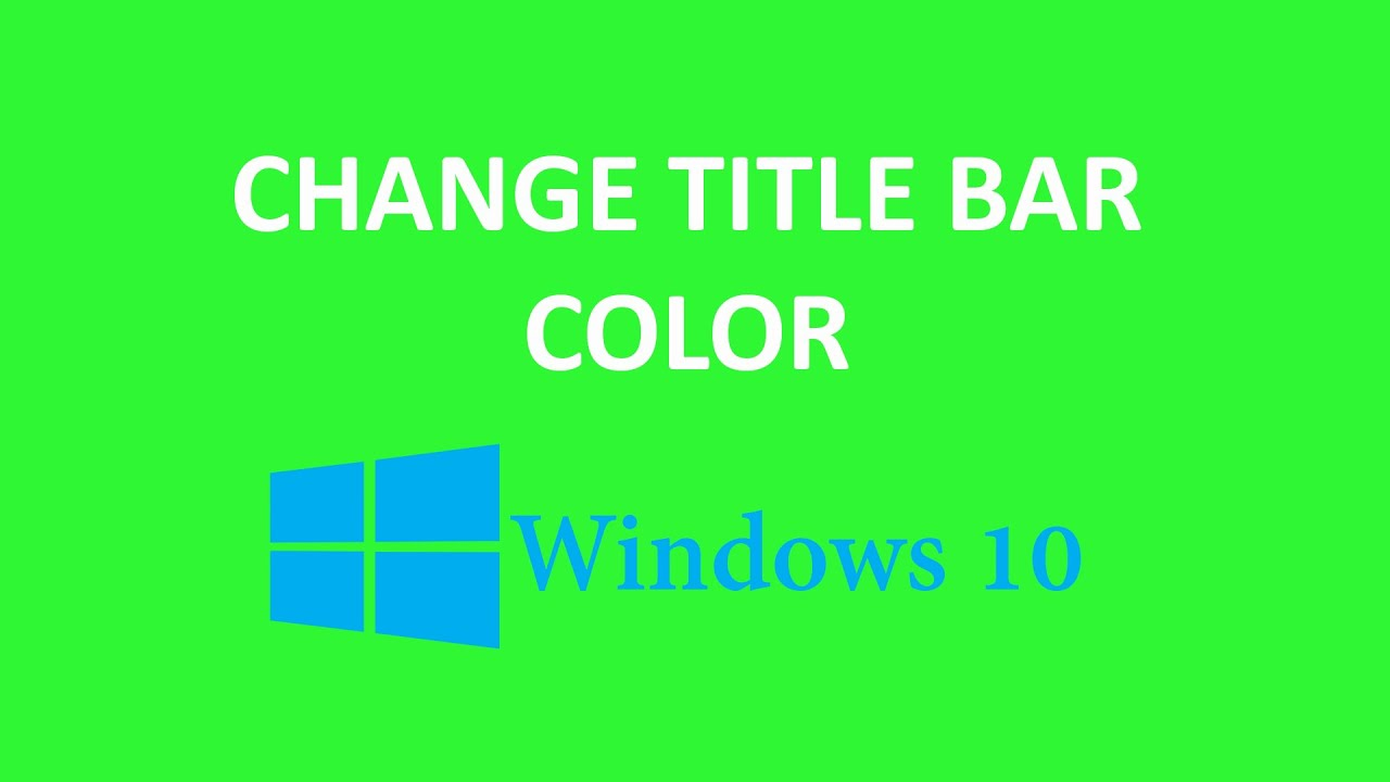 how to get the default windows 10 color