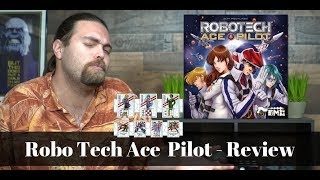 Robotech Ace Pilot - Board Game Review