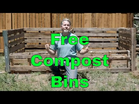 How to Make Pallet Compost Bins