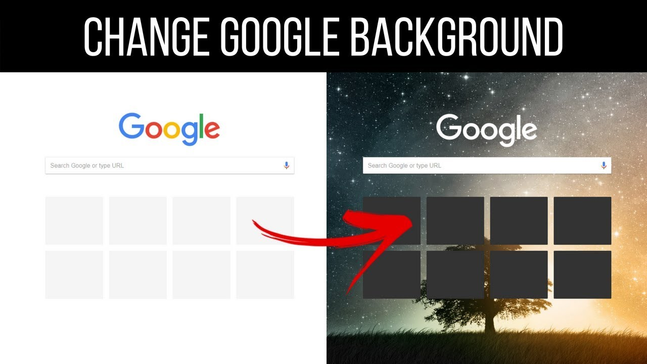 How To Make Your Own Background In Google Chrome How to