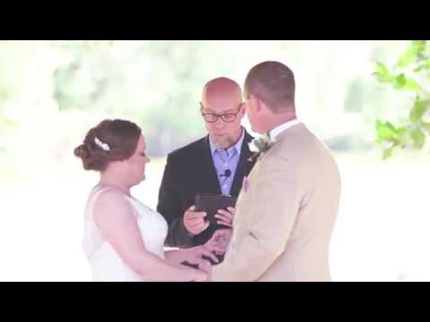 highlight video brianna and nathan wedding | virginia photos and films | norfolk botanical gardens