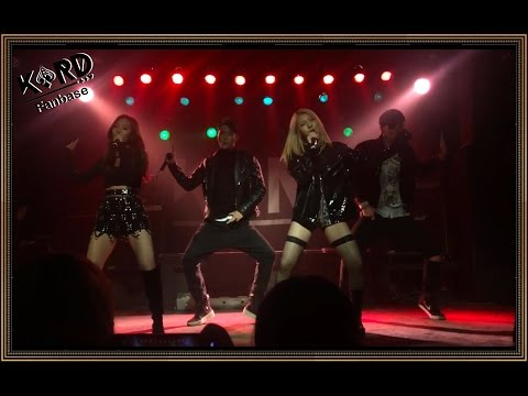[121216][Fancam][Debut Party] KARD (featuring YoungJi) - Oh NaNa live