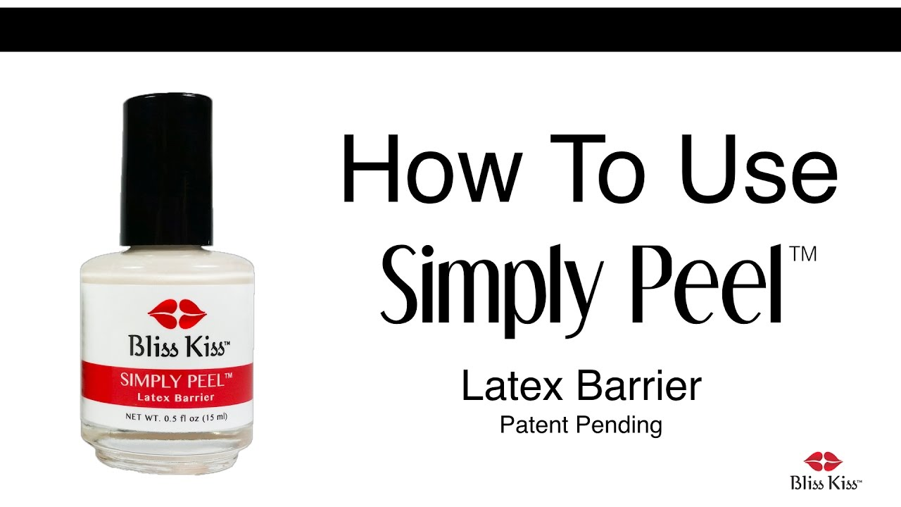 How To Use Simply Peel Latex Barrier Youtube