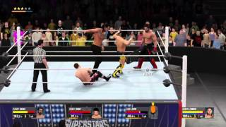 WWE 2K16 My Career Mode: Fatal-4 Way