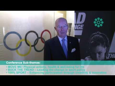 Peter Tallberg invites the sporting world to Helsinki
