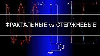 Фрактальные антенны против стержневых, принцип работы и сравнение характеристик