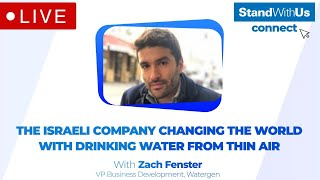 The Israeli Company Creating Drinking Water from Thin Air