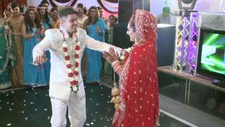 Best Wedding Dance, Rahul & Sangeeta, 1st Part, Likhiya Sanjog Rab Ne