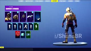New summit striker Skin (Fortnite)