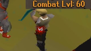 This Unique Pking Account is INSANE (low hp obby tank)