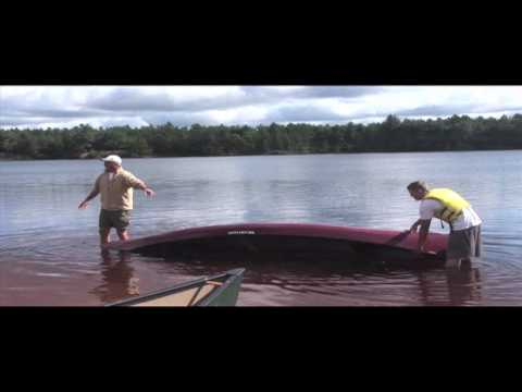 Wildlands School - Canoe Safety Part 6: Unswamping the Canoe