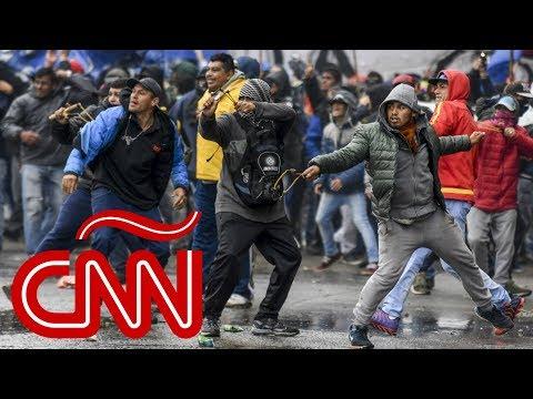 Argentina: peleas, disturbios y caos dentro y fuera del Congreso
