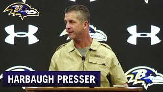 Harbaugh: Lamar Jackson Is 'All-In' on Getting Better | Baltimore Ravens