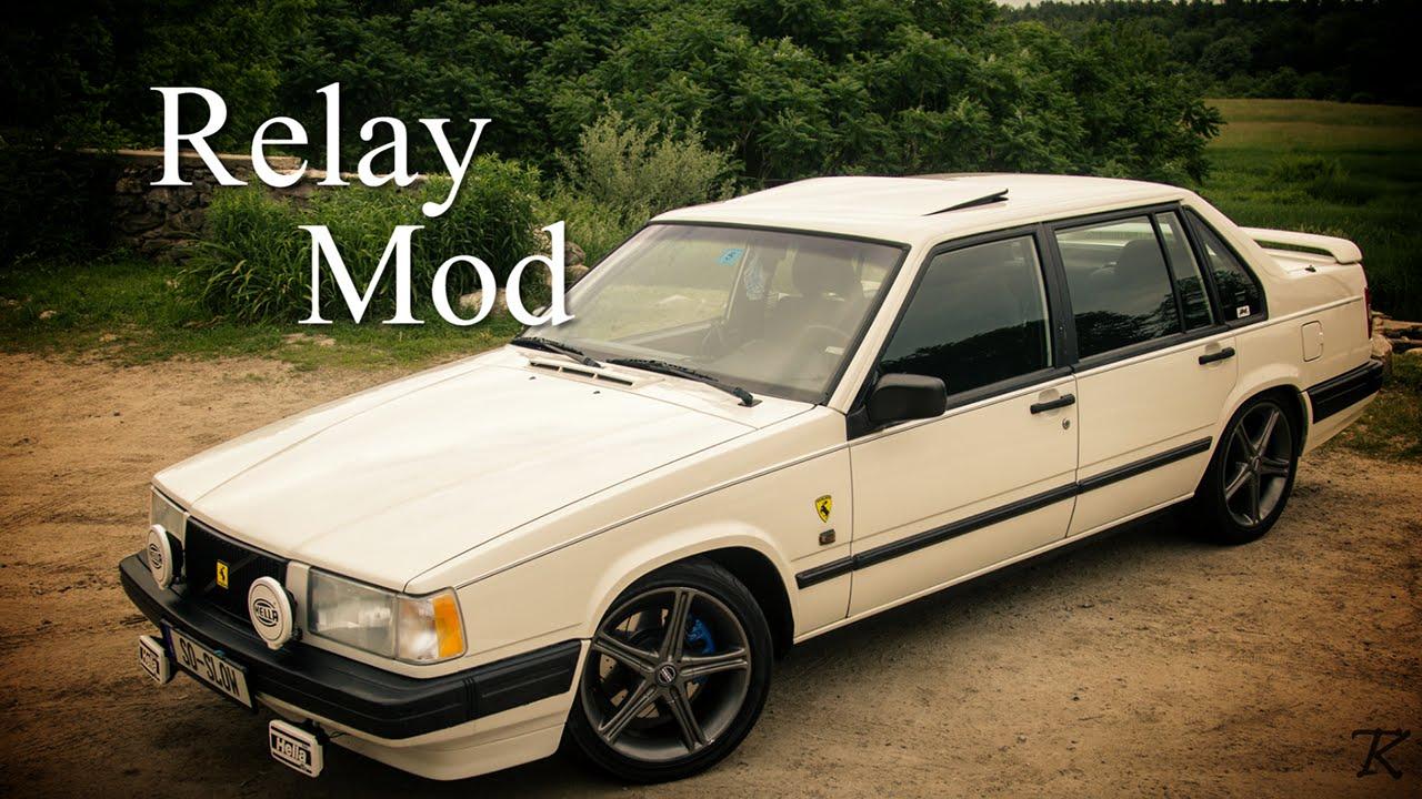 Volvo 940 Turbo  Headlight Relay Mod